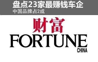 盘点全球23家最赚钱车企 中国品牌占2成