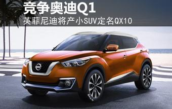 英菲尼迪将产小SUV定名QX10 竞争奥迪Q1