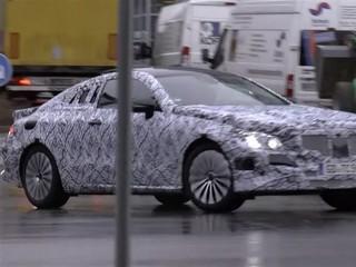 新一代奔驰E Coupe谍照曝光 或2017年发布-进口E级双门轿跑车