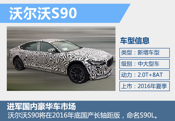 沃尔沃全新旗舰车-将上市 年内推国产加长版(图2)