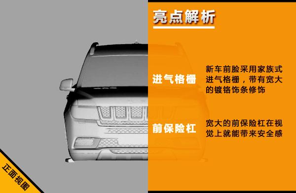 北汽将推超大型SUV 轴距长度远超路虎揽胜!(图3)