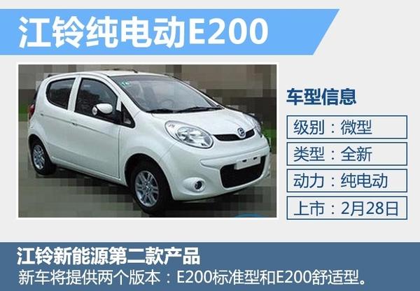 江铃新电动车28日上市 外观酷似长安奔奔mini(图2)