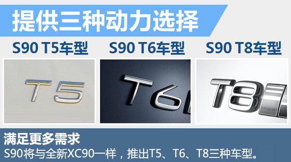 大咖来了 沃尔沃S90下月25日登陆中国迎首秀(图5)