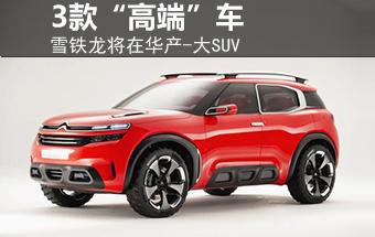 """雪铁龙将在华产-大SUV 等3款""""高端""""车"""