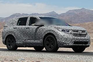 本田新一代CR-V将搭1.5T 车身尺寸增加