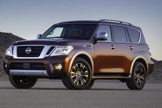 日产全尺寸SUV北美版售价公布 搭V8引擎