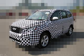 比速全新中型SUV谍照曝光 轴距超比亚迪S7