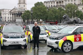 伦敦消防队购52台宝马i3 用于抢险车队