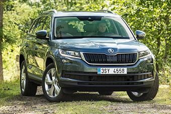斯柯达7座SUV将国产 两款衍生车专属中国-斯柯达晶锐对比评测 斯柯高清图片