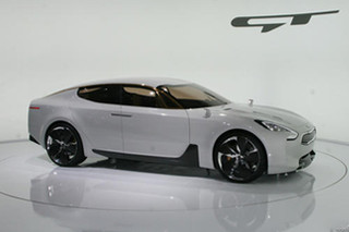 起亚四门轿跑概念车将量产 搭3.3升引擎