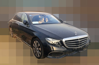 奔驰长轴距E级推新车型 搭插电混动系统