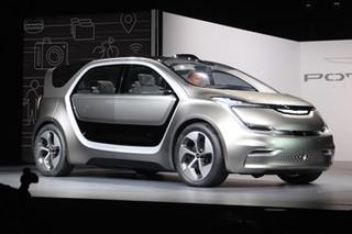 自动驾驶人脸识别 克莱斯勒Portal概念车
