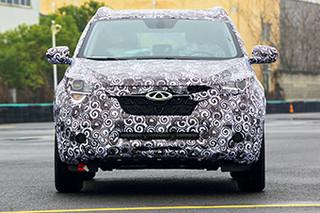 奇瑞新A级SUV-3季度上市 配大天窗/9寸屏