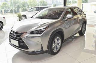 2016款雷克萨斯NX促销 购车价格降1万