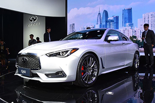 英菲尼迪轿跑车Q60今日上市 预售45万起