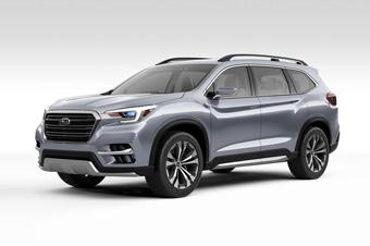 斯巴鲁发布全新七座SUV 2018年正式上市-进口斯巴鲁XV 对比评测 进