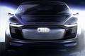 奥迪全新纯电动概念车X17 明日全球首发