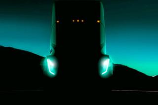 特斯拉首款电动卡车预告图 9月份将亮相