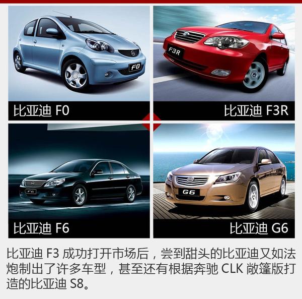 终于抄出名堂 自主品牌汽车造型发展