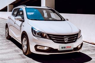 宝骏310 1.5L车型上市 售4.58-5.38万元