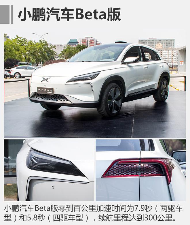 """小鹏汽车第一款量产车的目标是一辆时尚、跨界的电动SUV。目前,搭载小鹏汽车""""三电一屏""""的样车累计试验里程已达2万多公里。2016年9月13日,首款小鹏汽车BETA版车型于在北京正式发布,并于去年年底开始首批样车制造,2017年完成产品公告并开始小批量生产,此次小批量生产的车型采用代工方式。"""