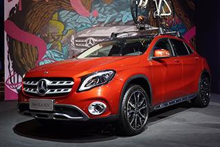 奔驰新一代GLA正式上市 售27.18万元起