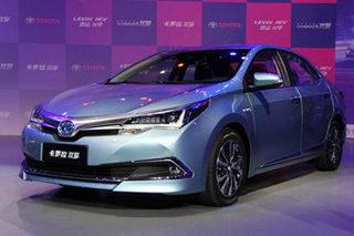 一汽丰田将推换代卡罗拉/双擎 年内投产