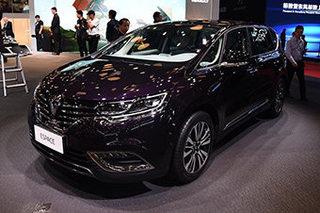 瞄准MPV市场 雷诺ESPACE于广州车展上市