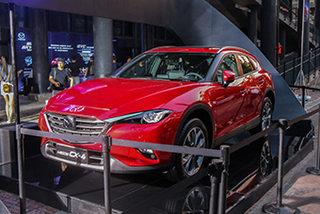 内外小改配置提升实拍2018款马自达CX-4