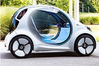 基于共享理念打造 smart发布纯电概念车