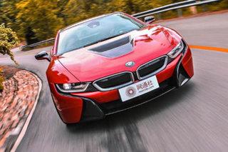 时间轮回已不识当初 试驾BMW i8质子红