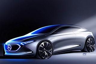 奔驰EQ紧凑概念车将发布 将基于A级打造