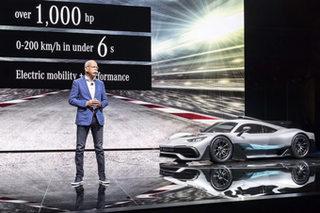 奔驰曝庞大电动布局 每车至少1款新能源