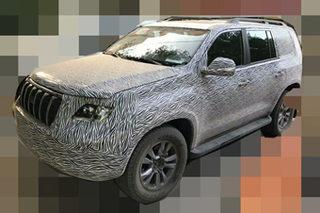 恒天汽车首款SUV最新谍照 轴距超哈弗H9