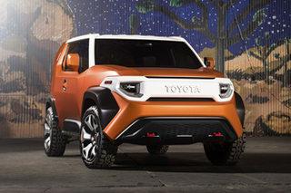丰田全新SUV概念车专利图 TNGA架构打造