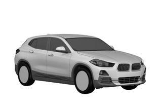 宝马X2量产车专利图曝光 将于明年上市