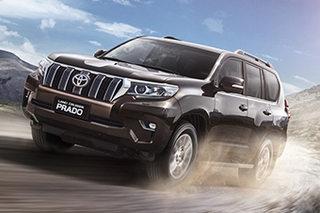 一汽丰田新普拉多正式上市 售46.48万起