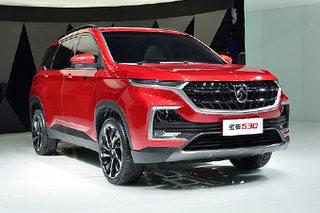 宝骏全新SUV-530正式亮相 将于明年上市