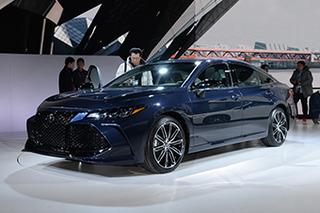 丰田新Avalon提供两种外观 2019年国产