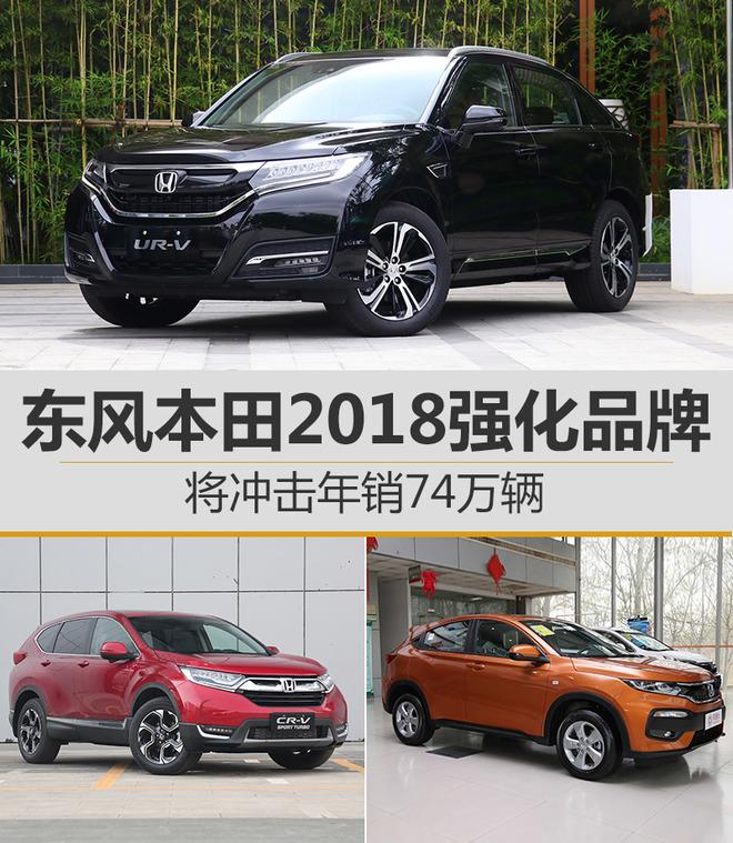 高速公路--东风本田2018强化品牌 将冲击年销74万辆