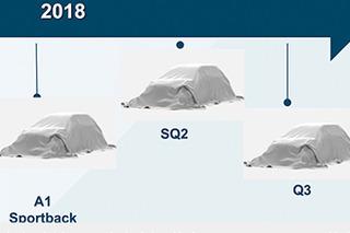 城市通勤可选 奥迪2018推3款身形灵活的新车