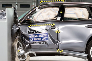 春节假期安全出行 4款豪华中型SUV碰撞对比