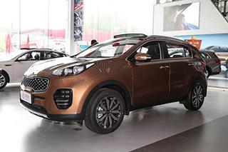 起亚KX5现金优惠2.9万元 少量现车销售