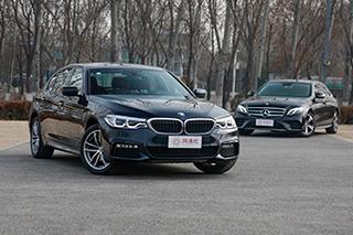 老对手间的入门对决 BMW5系对比奔驰E级