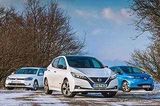 三款英国主力纯电动车横评
