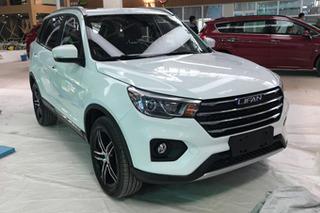 网通社北京车展探馆:力帆全新SUV实车