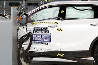 """4款热门""""大""""SUV碰撞测试解析 安全差别明显"""