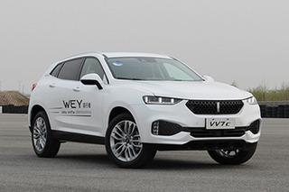 对标长安CS85 WEY VV7 GT曝光/搭2.0T发动机