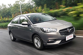 Newly Buick Excelle, to establish an entry-level family car image