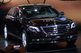 奔驰S级多款新车正式上市 售86.38-140.88万元